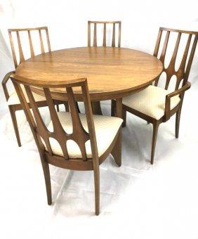 Broyhill Brasilia Mid Century Mod Teak Table & chairs