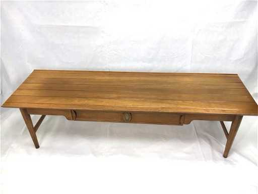 Drexel Heritage Long Coffee Table Mid Century Mod See Sold Price
