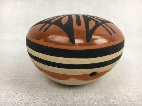 Lawrence Lupita Yepa Jemez Pueblo pottery pot