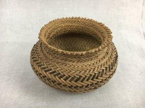 Small Native American woven basket
