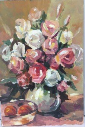 Expressionist Still life bouquet Fran Ulrich