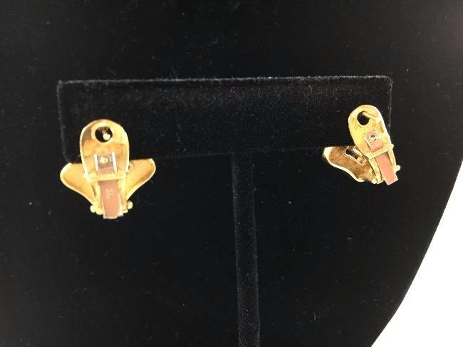 Greek Key Gold Necklace & Earrings Demi-Parure - 5