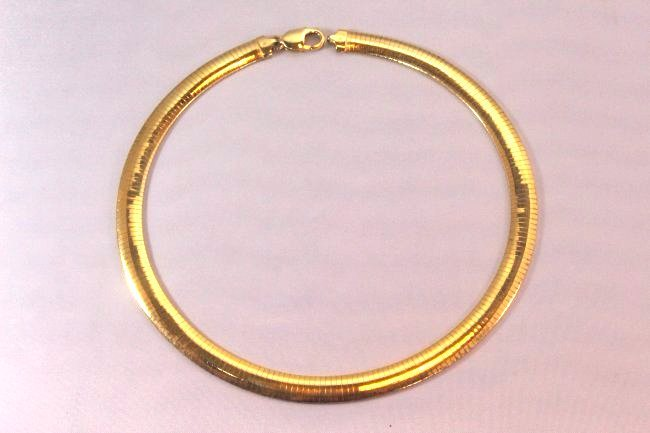 Beautiful Veronese Italian Gold over Sterling Necklace - 6