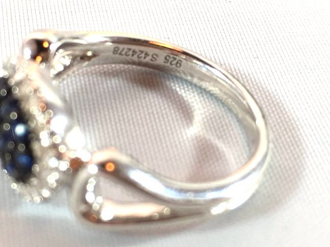 3 Ladies Rings Amethyst Gabriel Sapphire Pavé - 3