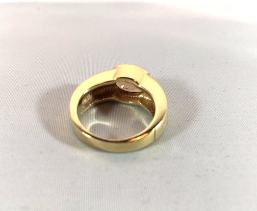 Oval Cut Citrine 14k Gold Ladies Ring size 5.5 - 3