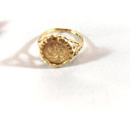 2 Ladies 10K Gold Rings Diamond Pavé - 4