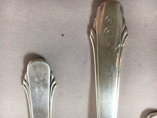 Gorham Hunt Club Sterling Silver Flatware Service 1930 - 4