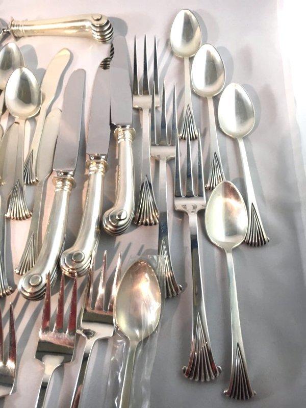 Wallace Tuttle Onslow Sterling Silver Flatware Service - 5