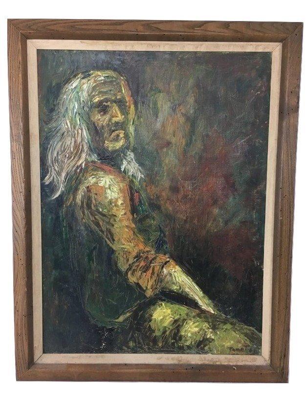 Juan/Joan Fabregat (1882-1955) original oil painting
