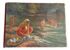 Capercez Student of Fernando Amorsolo Painting Manila