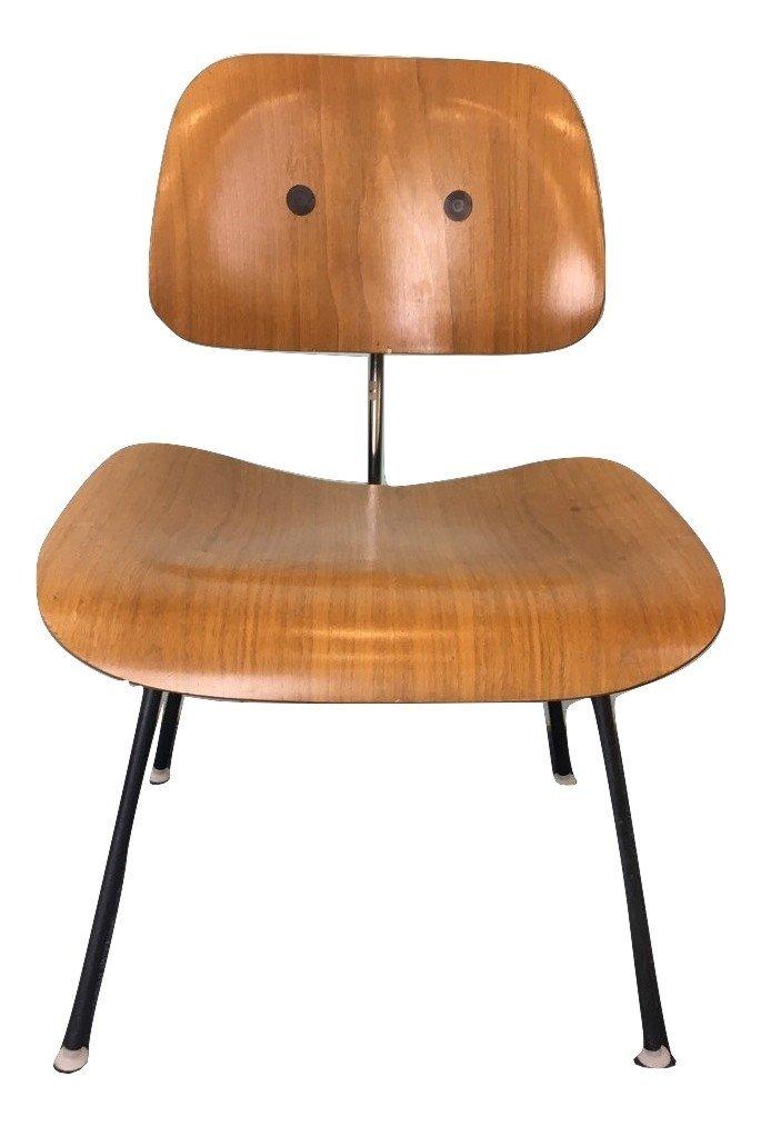 Charles Eames DCM Plywood & Steel Chair Herman Miller