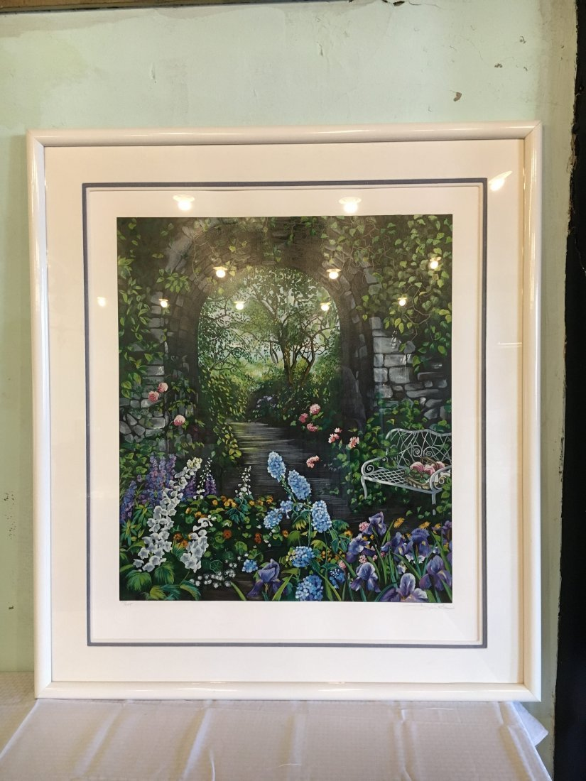 """""""Reunion"""" Signed/Numbered Serigraph by Susan Rios"""