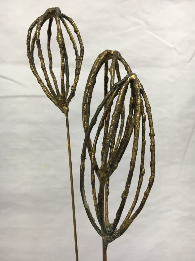 Mid Century Brutalist bronze ballon man sculpture - 7
