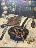 H. Saint-Plancat expressionist painting school DuBuffet