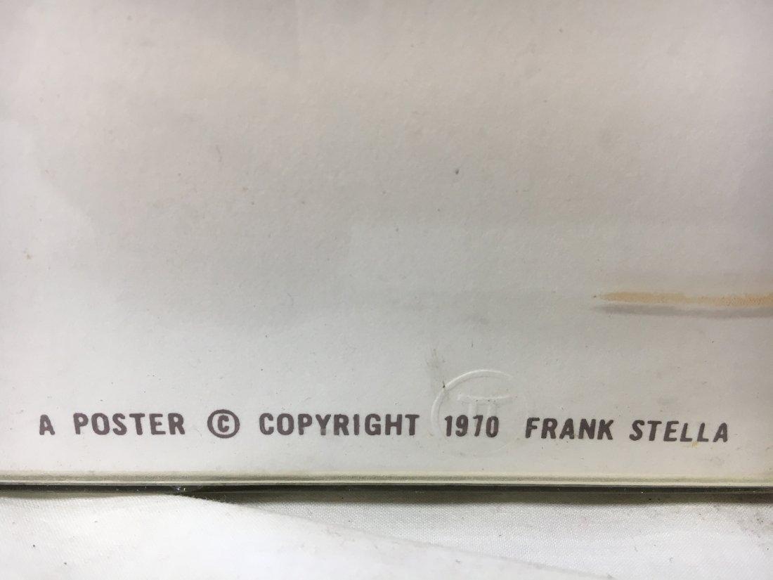 "Frank Stella ""Referendum 70"" serigraph original - 3"