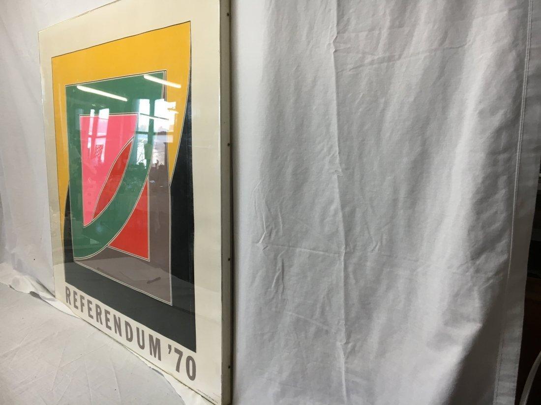 "Frank Stella ""Referendum 70"" serigraph original - 5"