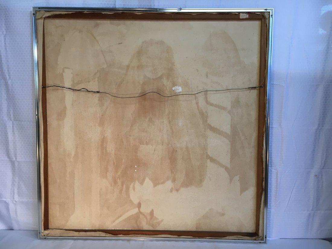 """Virgin Bride"" 1976 Rosalind pop outsider art painting - 10"