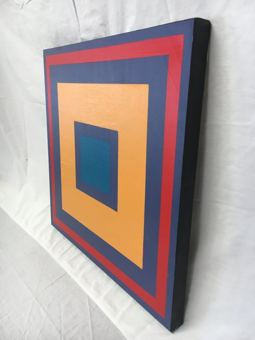 Daniel Kabele abstract target painting - 3