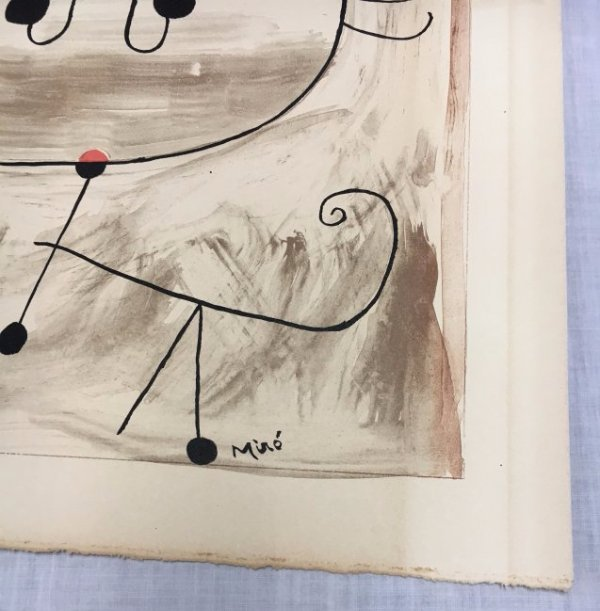 Joan Miró lithograph Derriere le Mirroir 60s - 4