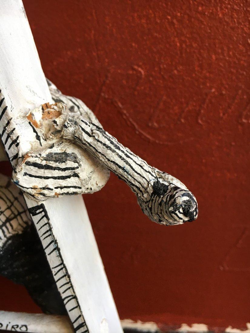 Outsider art sculpture by Shapiro Tim Burton-esque - 6