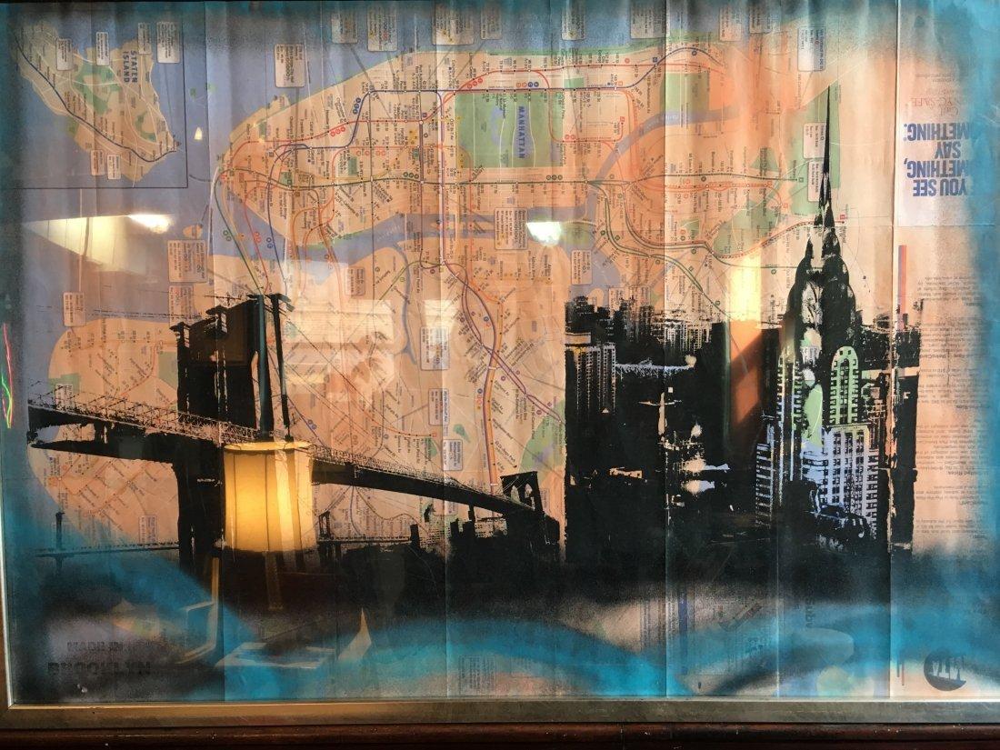 New York Street Art Map Stan Jorgensen