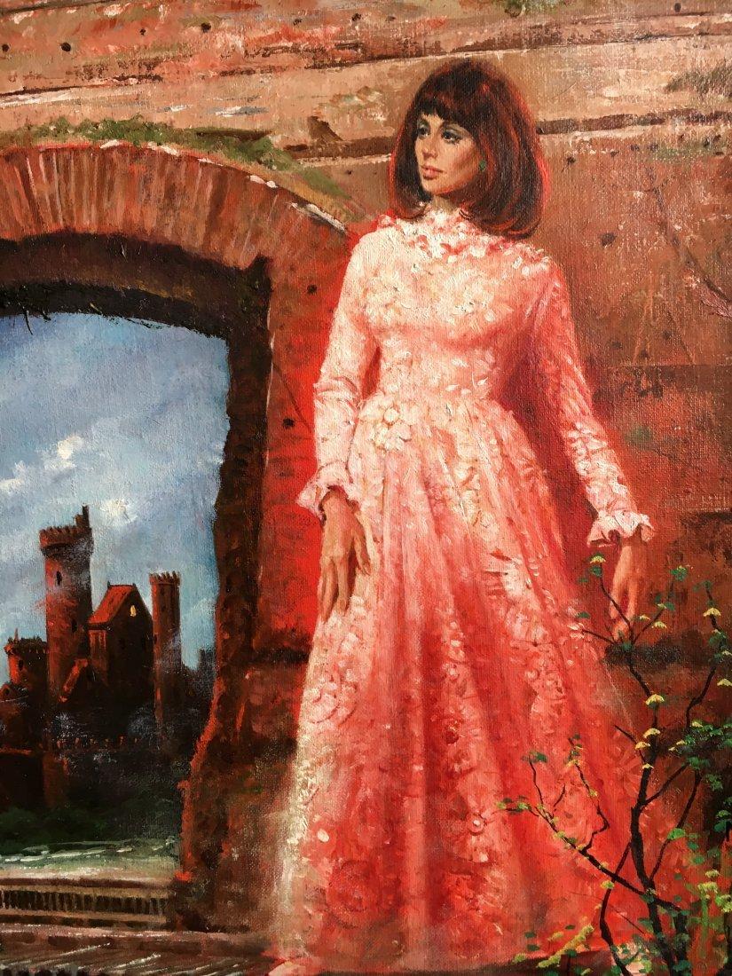 "Lou Marchetti original book painting ""Dark Interval"" - 3"