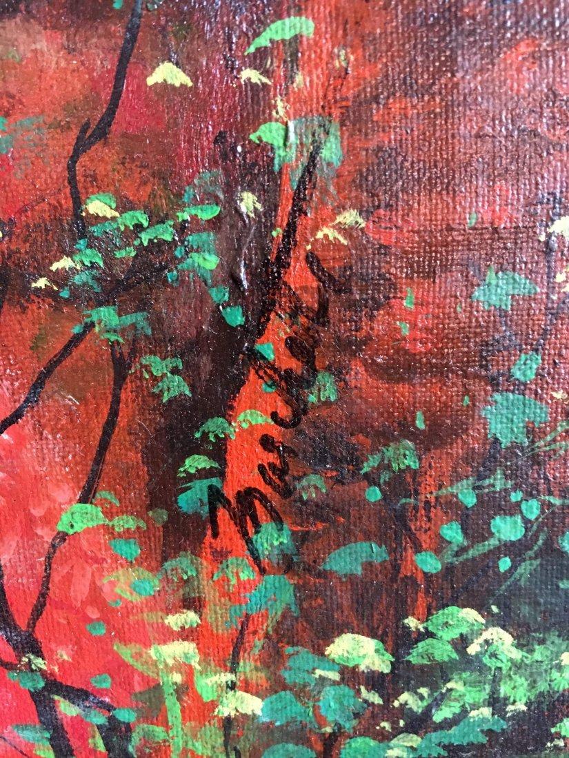 "Lou Marchetti original book painting ""Dark Interval"" - 4"