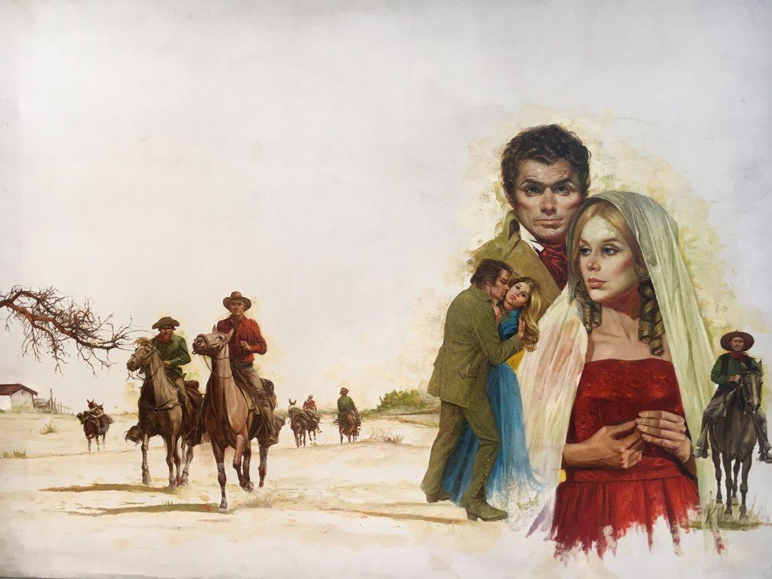 Lou Marchetti original book painting Savage Enchantment