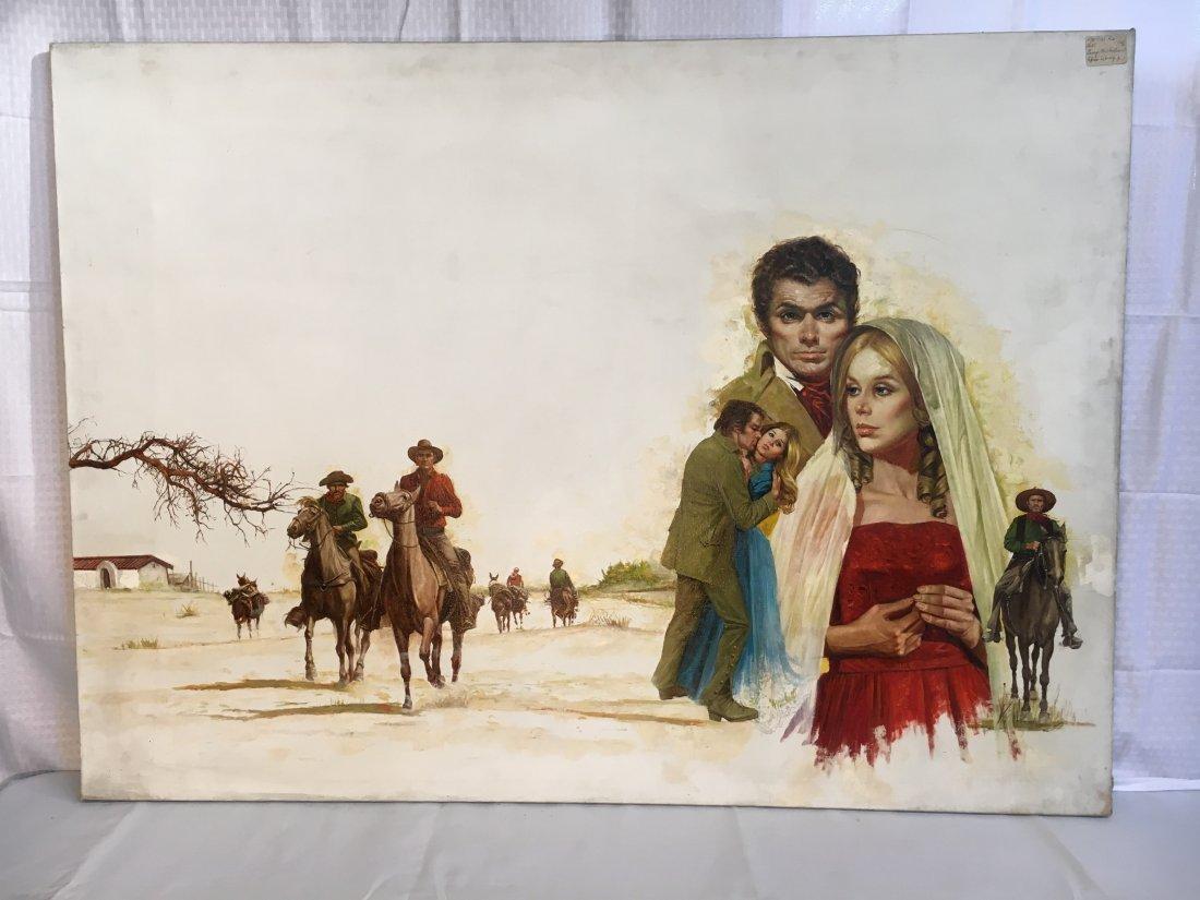 Lou Marchetti original book painting Savage Enchantment - 2