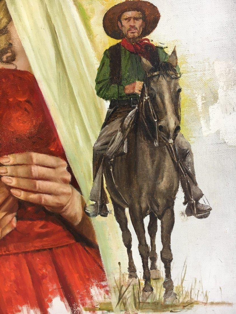 Lou Marchetti original book painting Savage Enchantment - 6