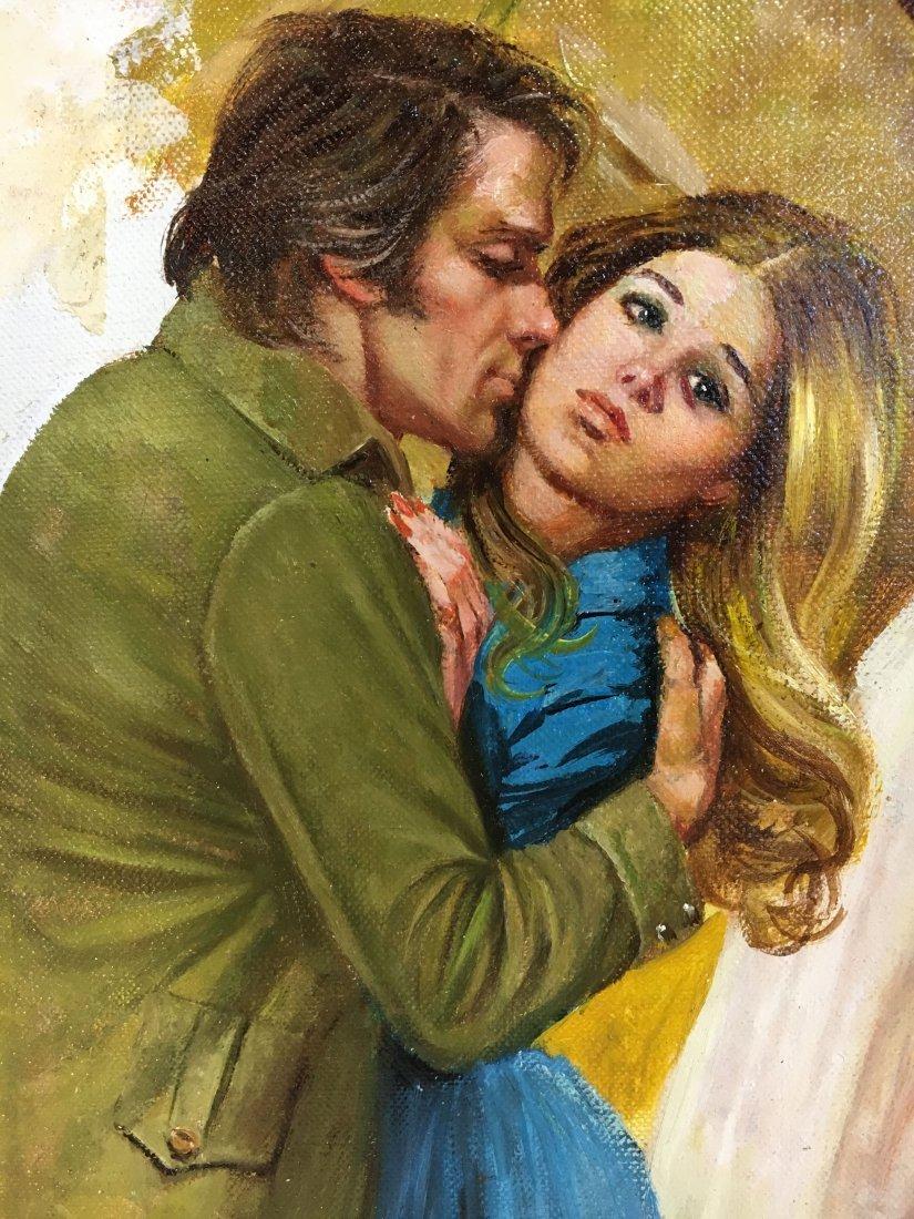 Lou Marchetti original book painting Savage Enchantment - 7