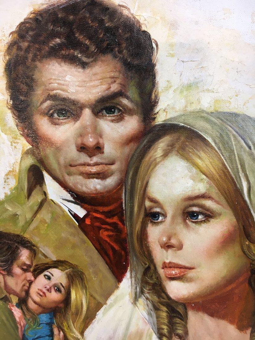 Lou Marchetti original book painting Savage Enchantment - 8