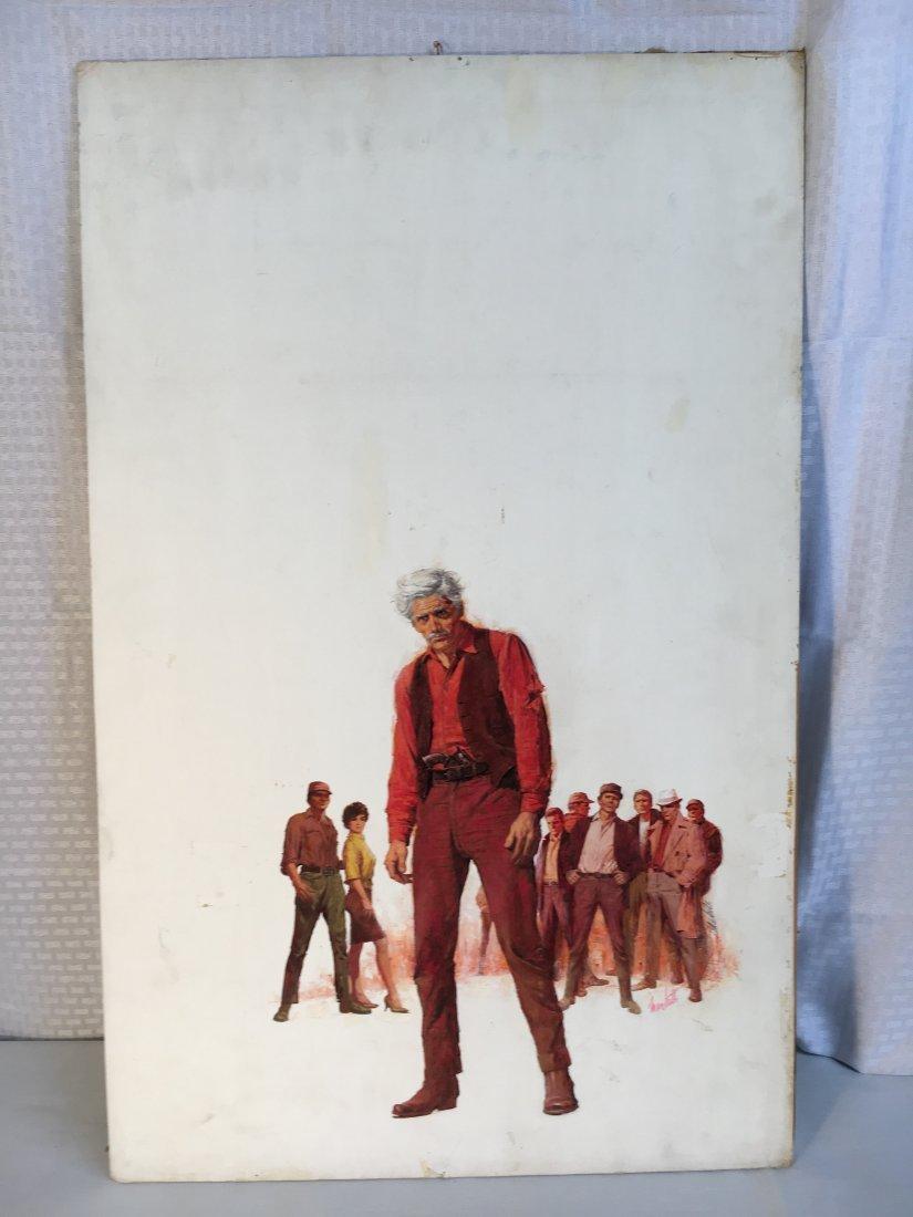 "Lou Marchetti original book painting ""Range of Honor"" - 2"