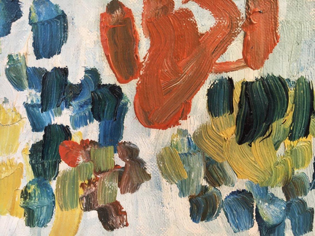 Sandy Murphy original abstract painting 1957