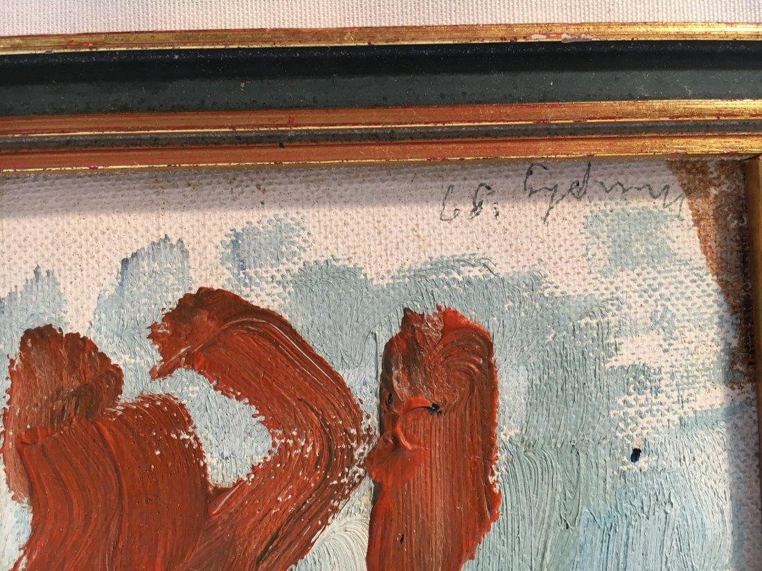 Sandy Murphy original abstract painting 1957 - 4