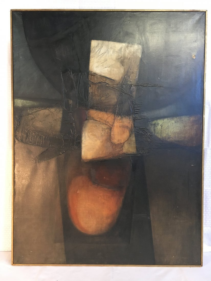 Mario Festa Entrando en el espejo abstract painting '63
