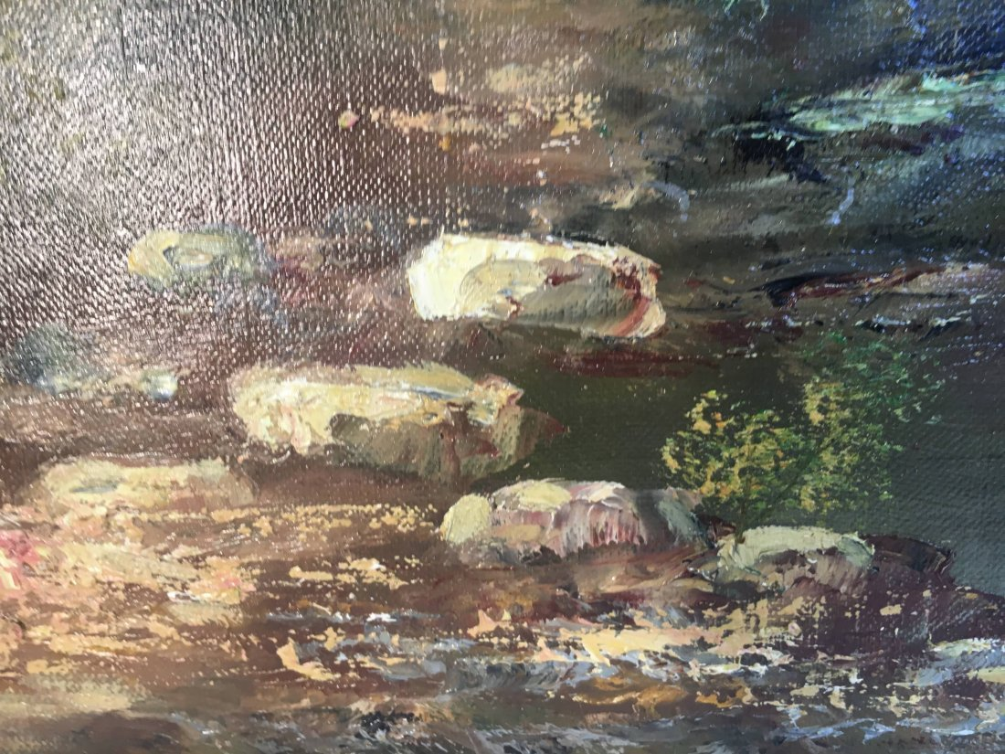 landscape oil painting by brother of Lazlo Werner - 6