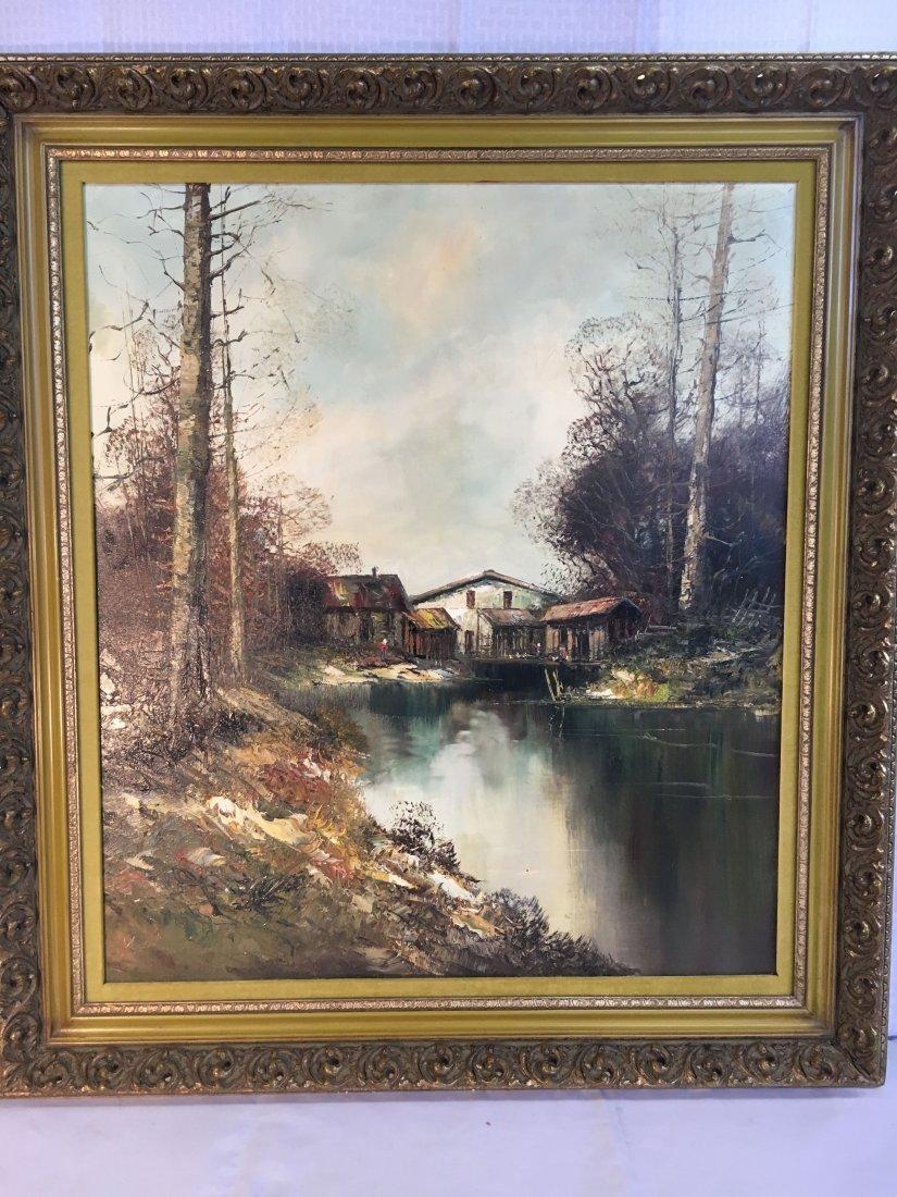 listed artist Kort German landscape painting - 2