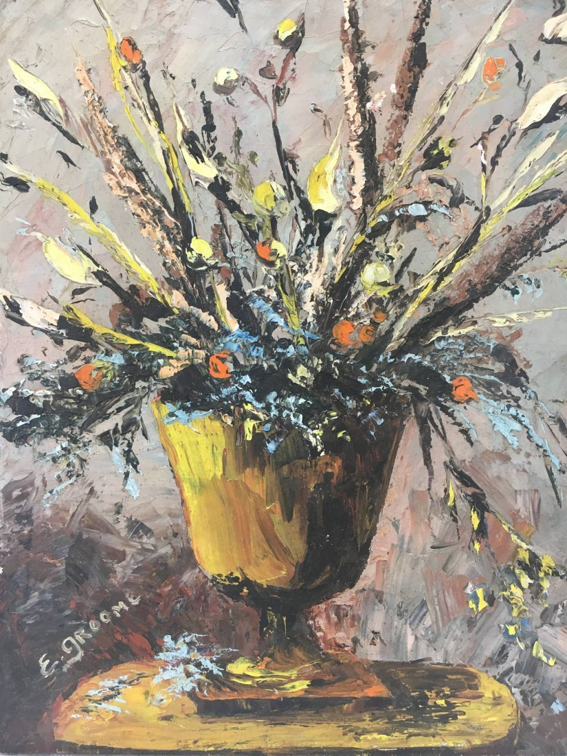 Expressionist Still life oil painting by Esther Groome