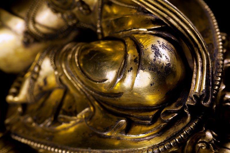 Chinese Ming dynasty Bronze figure of Buddha - 3