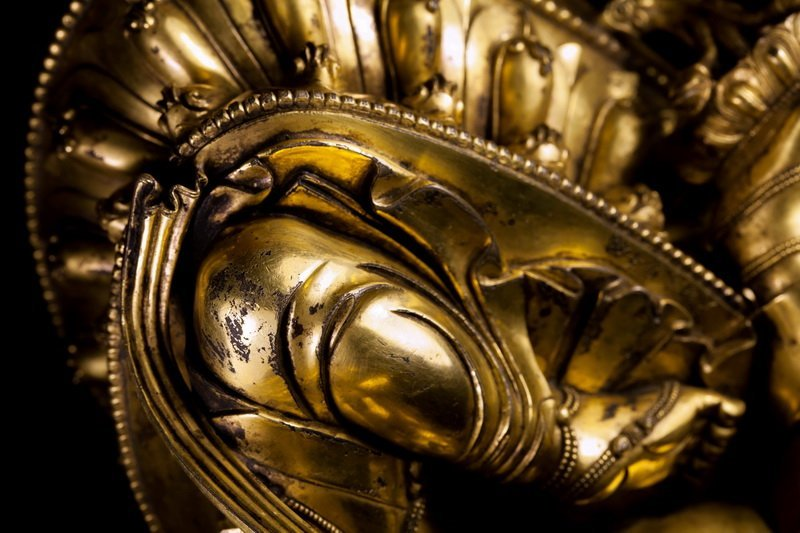 Chinese Ming dynasty Bronze figure of Buddha - 6