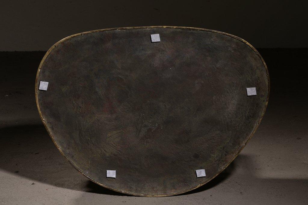 Large Chinese Qing Dynasty Gilt Bronze Seated Buddha - 9