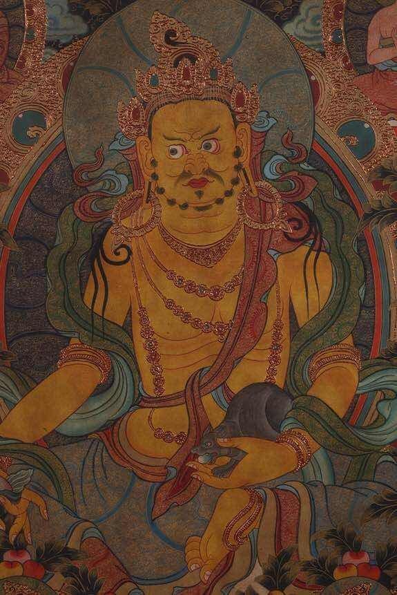 Chinese Qing Dynasty Painting Buddhist Thangka - 3