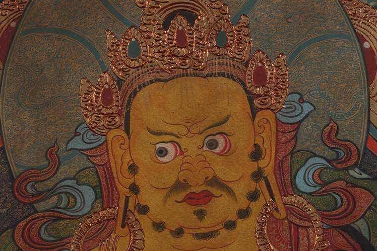 Chinese Qing Dynasty Painting Buddhist Thangka - 5