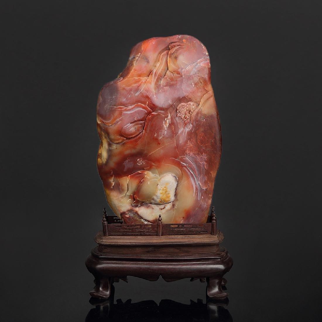 Chinese Shoushan Stone Boulder - 5