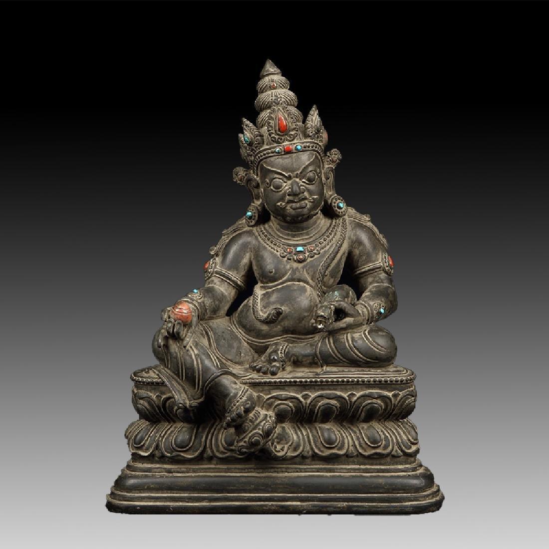 Chinese Antique Stone Buddha