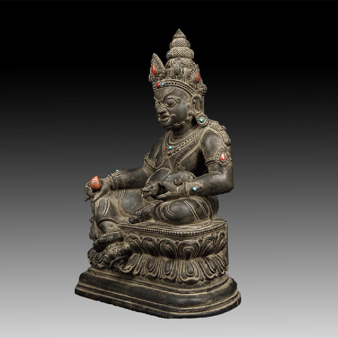 Chinese Antique Stone Buddha - 2