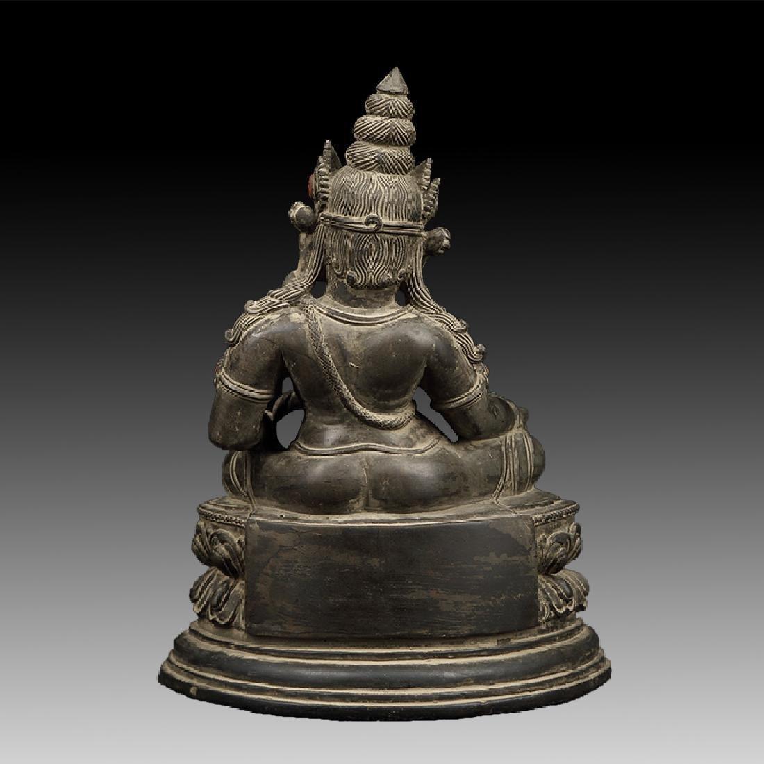 Chinese Antique Stone Buddha - 4