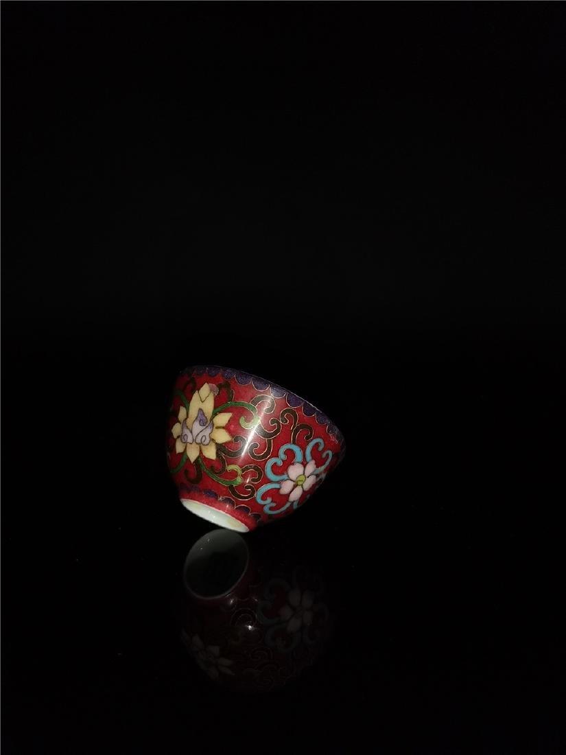 Chinese  Famille Rose Porcelain  Bowl - 9
