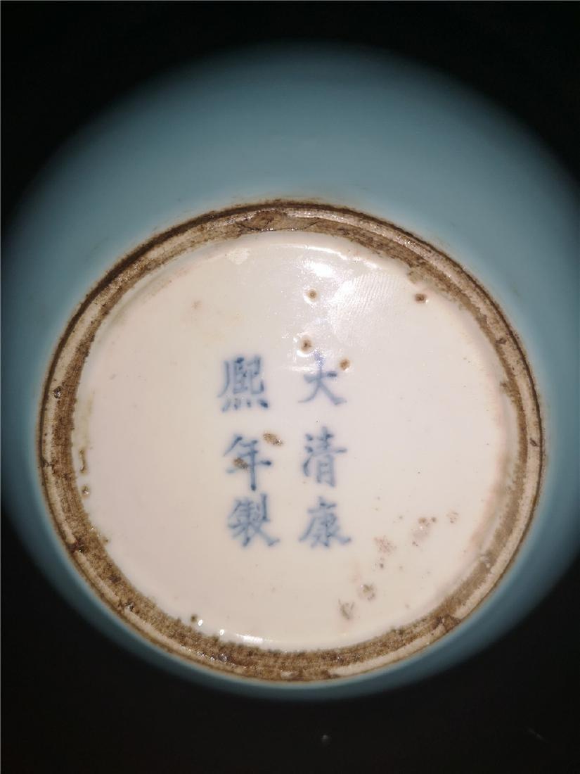 Chinese Pale Celadon Porcelain Bottle Vase - 7